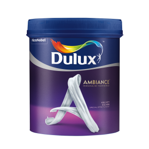 son DULUX AMBIANCE SPECIAL EFFECTS PAINTS VELVET SILVER